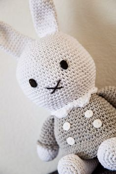 Miffy, Mini S, Hello Kitty, Toys, Children, Crochet, Character, Diy Dog, Free Pattern