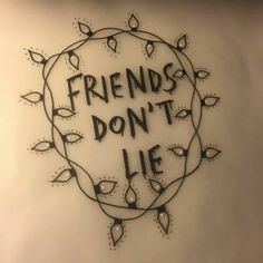 """Friends don't lie"" from Stranger Things"