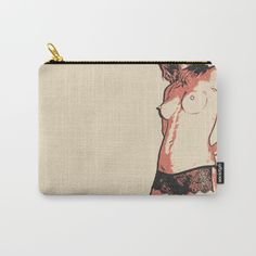 Womans Body Beauty Erotic Nude Carry-All Pouch