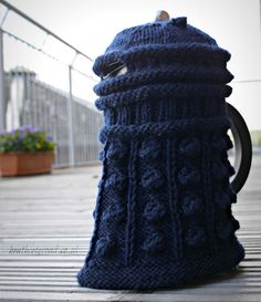 Doctor Who knitting patterns!