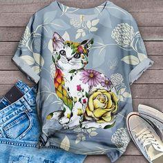 Cat Shirt Bird Shirt, Cat Shirts, Tees, Artwork, T Shirts, Work Of Art, Auguste Rodin Artwork, Tee Shirts, Teas