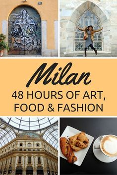 Introduction to Milan: 48 Hours of Art, Food and Fashion Things to do in Milan, Italy // 48 hours in Milan travel itinerary with a focus on art, food, and fashion.The Things Things or The Things may refer to: Pisa, Cinque Terre, Amalfi Coast, Milan Travel, Things To Do In Italy, Milan Things To Do, Reisen In Europa, Italy Travel Tips, Budget Travel