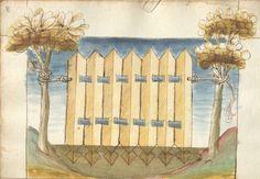 Bellifortis VerfasserKyeser, Conradus  ErschienenElsaß, [um 1460] Ms. germ. qu. 15  Folio 108r