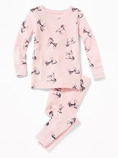Old Navy Horse-Print Sleep Set for Toddler Girls & Baby Baby Dress Clothes, Winter Baby Clothes, Cute Baby Clothes, Babies Clothes, Baby Dresses, Toddler Boy Gifts, Toddler Girl Outfits, Kids Outfits, Toddler Girls