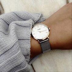 CLUSE La Boheme Mesh Rose Gold/Silver CL18116 #montre #femme #Cluse