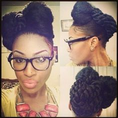 Braids ¤ Twist (Natural Hair  Protective Styles)