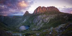 A Breath In The Eyes Of Eternity - Last light, Cradle Mountain Tasmania.