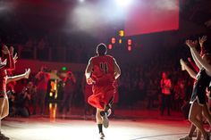 The kickoff event for Biola's basketball season combines lively skits, dances and the introductions of athletes.