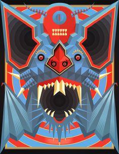 Øf the End - Daniel Nyari Graphic Design & Illustration