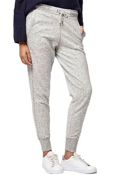 6710f4e90720e Free shipping and returns on Topshop Slim Fit Marled Jogger Pants at  Nordstrom.com.