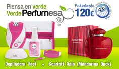 Llévate una depiladora Veet y un perfume con Perfumesa #SorteosActivos #Sorteamus Sorteo por @Perfumesaa
