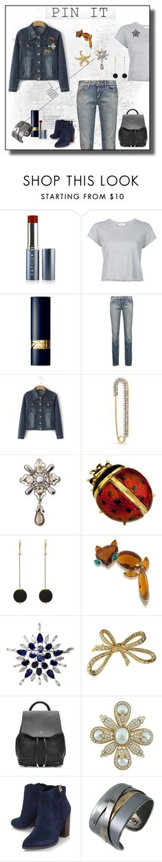 """""""Pin It ..."""" by lutgard-m ❤ liked on Polyvore featuring Vapour Organic Beauty, RE/DONE, Christian Dior, Just Cavalli, WithChic, Bling Jewelry, Oscar de la Renta, Dorus Mhor, Trina Turk and rag & bone"""