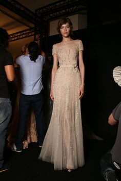 "mulberry-cookies: "" Backstage @ Elie Saab Fall 2011 Couture """