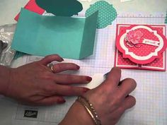 Video Tutorial on Unique Gate Fold! Stampin' UP!, Window Frames Collection, card making Card Making Tutorials, Card Making Techniques, Making Ideas, Making Cards, Fun Fold Cards, Folded Cards, Scrapbook Cards, Scrapbooking, Interactive Cards