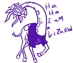 Gamzee, you okay there dude?<<< he inst even a lizard hes a giraffe this took me a minute to realize :33