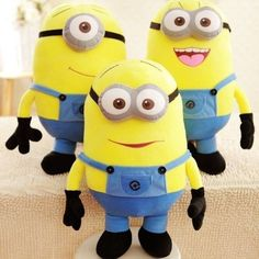3D Despicable Me Minion Plush Toy Minions Stuffed Doll Plush Doll toys Jorge…