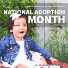 November is National Adoption Month! Thinking about adopting? Take the first step: goo.gl/kdexe9