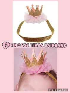 Tiara Crown Christmas photo props cake smash 1st Birthday Princess head/hairband  | eBay
