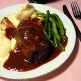 Jehněčí kolínko na víně Steak, Beef, Food, Chicken, Meat, Meals, Ox, Yemek, Buffalo Chicken