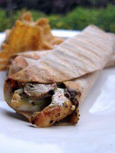 Chicken Pesto Wraps