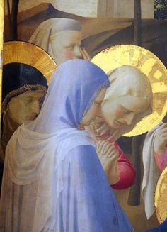 BEATO ANGELICO - Deposizione dalla croce, dettaglio - 1432 (intorno al) - tempera su tavola - Museo Nazionale di San Marco