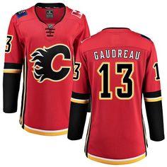 6bea31dd5ce Fanatics Branded Calgary Flames  13 Women s Johnny Gaudreau Breakaway Red  Home NHL Jersey Johnny Gaudreau
