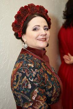 Ніна Матвієнко Ukrainian beauty folk fashion