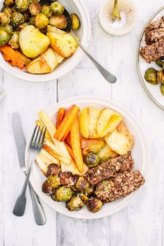 Nut Roast - The Little Green Spoon. A delicious vegan option for Christmas dinner. Made with red lentils, cashews, walnuts, pine nuts and mushrooms.