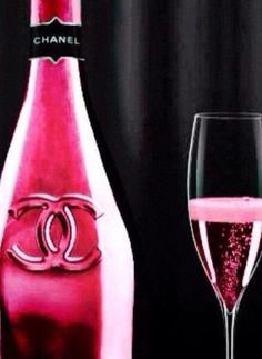Pink Chanel Champagne