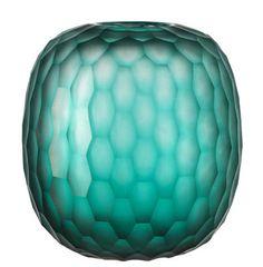 Vase Galassia / H 19 cm Vert émeraude - Leonardo