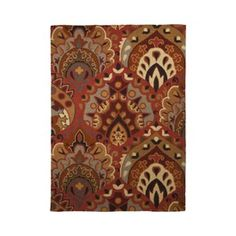 Mayfair Area Rug - Red