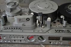 2X Nagra First Portable Video Recorder VPR 5 Ampex NASA