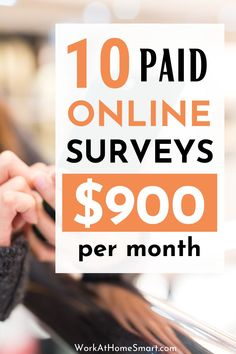 Looking for legit paid surveys to earn extra cash? Here are some of the best online survey sites to get you started. Make extra money with these 10 best survey sites. Make Money Doing Surveys, Surveys That Pay Cash, Online Surveys For Money, Way To Make Money, How To Make, Best Online Survey Sites, Survey Websites, Survey Sites That Pay, Earn Extra Cash