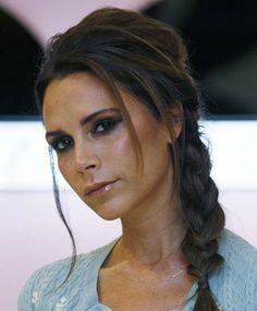 20 Celeb Inspired Chic Braids To Try This Summer: Victoria Beckham Braided Hairstyles  #braids #braidedhairstyles