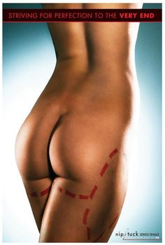 "TV040. ""Nip/tuck (XXIII)"" / PromoTv Movie Poster by CMYK (2010)"