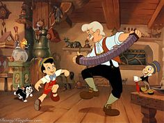 "Disney Film ""Pinocchio"" Released February 1940."