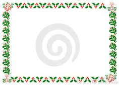 Christmas Holly Border - Download From Over 25 Million High Quality Stock Photos, Images, Vectors. Sign up for FREE today. Image: 3204530