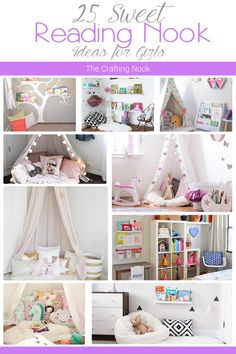 25 Sweet Reading Nook Ideas and Inspiration for Girls
