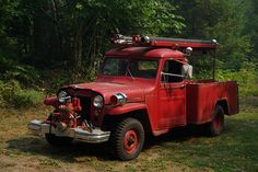 1952 Willys Fire Engine