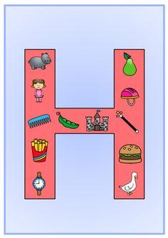 Produkt - Písmenka - výzdoba třídy Preschool Themes, Montessori, Kindergarten, Symbols, Letters, Education, Logos, Scrappy Quilts, Logo