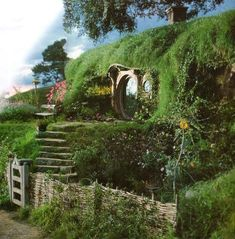 Hobbit house If I get my earthship, its going to look like a hobbit hole