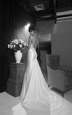 A great backless dress. If I could go back in time this is almost exactly what I would want!!!