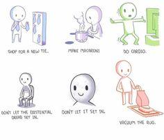 An everyday struggle.