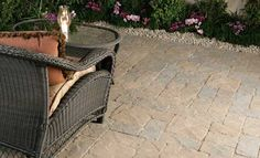 Venetian Stone™ Rectangle, Square, Large Rectangle, and Giant Paver Garden Patio