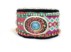 Bohemian bracelet. Very cool.