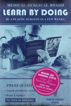 Miami Ad School ESPM: Surgery