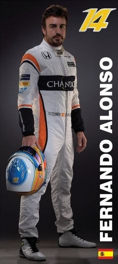 McLaren Honda Formula 1 Team - Fernando Alonso
