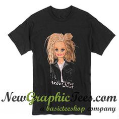 About Last Night Barbie T Shirt