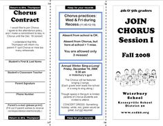 Love the format of the Chorus contract, now I need to adapt and make a larger one for my High School Orchestra Middle School Choir, High School, Elementary Choir, Music Classroom, Classroom Ideas, Teachers Toolbox, Music Sing, Music Activities, Teaching Music