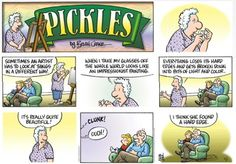 Pickles hard edge - Pickles takes her glasses off !